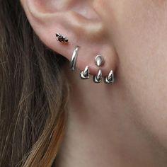 Details about  /1PC Helix  Rook Lobe Stud Arrow Dangle Ear Cartilage Earring Piercing Jewelry