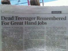 fertile woman dies in climax headline