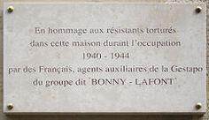 Gestapo française de la rue Lauriston — Wikipédia