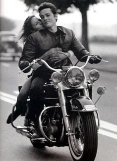 Find images and videos about couple, bike and Alain Delon on We Heart It - the app to get lost in what you love.