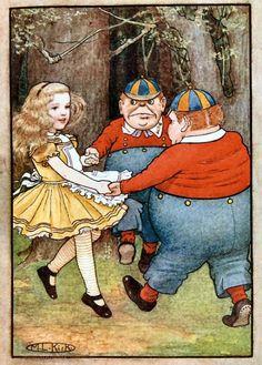 Maria Kirk, 1904. Alice in Wonderland Art