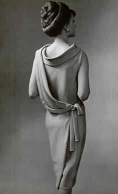 Fashion by Guy Laroche, 1961. El vestido de Mamá.