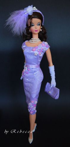 OOAK Fashion for Silkstone Barbie by Rebecca