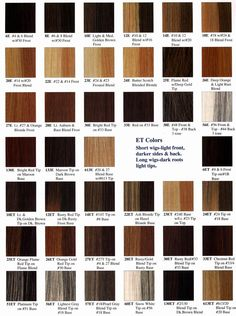Redken Color Chart - 26E please! ^_^ this may be really helpful to take to the salon...