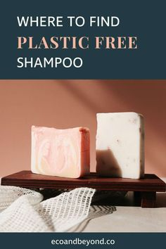 Switching to a plastic free shampoo will reduce your plastic consumption considerably. Glass Storage Jars, Jar Storage, What Is Plastic, Reuse Bottles, Solid Shampoo, Homemade Shampoo, Personal Hygiene, Sweet Almond Oil, Keep It Cleaner