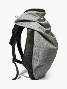 Cote & Ciel,Nile Basalt Backpack,GREY
