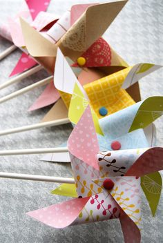 Pinwheel Party Decorations