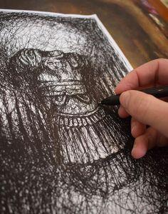 Emperor lll - ORIGINAL DRAWING - On thin A4 paper #drawing #sketch #sketrchbook #art #original #rome #torso