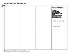T booklet lapbook template Education LapbookNotebook