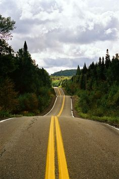 On the road until the Seigneurie du Triton, Quebec, Canada by Robin Ferali on 500px
