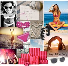 """""""BEACH!!!!"""" by esteffderlic ❤ liked on Polyvore"""