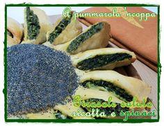 Girasole salato con ricotta e spinaci