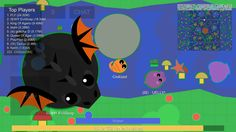 Omg guys, just playing mope.io and I see a BLACK DRAGON!!!