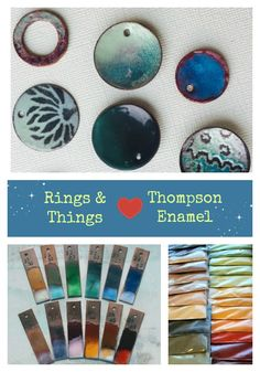 Rings & Things and Thompson Enamels... a great match.