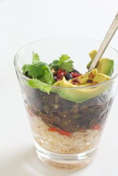 Black Bean Burrito Bowls Recipe - Cancer Fighting Food - http://acidrefluxrecipes.com/black-bean-burrito-bowls-recipe-cancer-fighting-food/