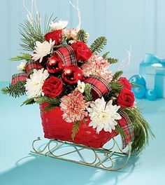 Danielle's Rockaway Florist - Shop here for fresh winter holiday flower arrangements!