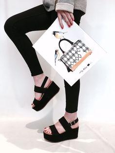 #Sandalias Alpe Woman Shoes con plataforma. ¡Me las llevo!