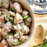 BHG's Newest Recipes:Herbed Potato salad Recipe