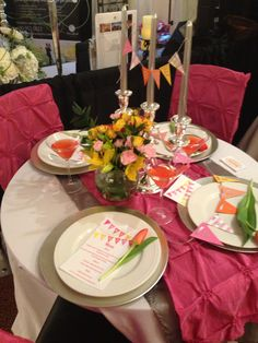 Sweet summer love wedding tablescape