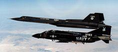 F-4J Phantom and Blackbird