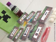 Festa na escola: preparamos as sacolinhas de acordo com suas preferências e tudo personalizado. Peça um orçamento!