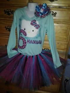 6th Birthday Hello Kitty Outfit