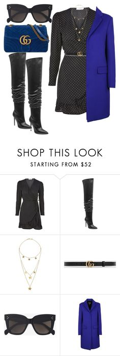"""""""Untitled #4606"""" by dkfashion-658 ❤ liked on Polyvore featuring Oh My Love, Kendall + Kylie, Made, Gucci, CÉLINE and MSGM"""