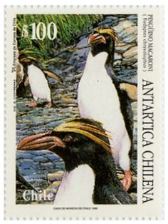 Macaroni Penguin stamps - mainly images - gallery format
