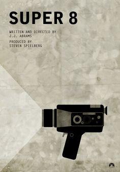Super 8 (2011) ~ Minimal Movie Poster by Maks Bereski