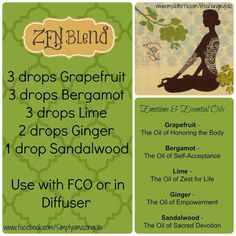 essential oil zen blend  www.onedoterracommunity.com   https://www.facebook.com/#!/OneDoterraCommunity