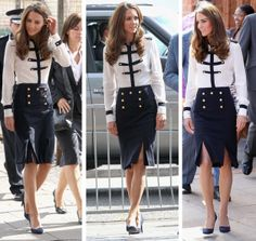 Kate in another fabulous McQueen ensemble