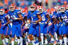 Gator Football, Florida Gators Football, College Football, Football Helmets, Defensive Back, South Carolina Gamecocks, University Of Florida, Happy Campers, Bait