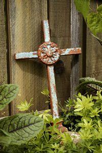 standing iron cross