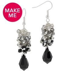 Night Out Earrings | Fusion Beads