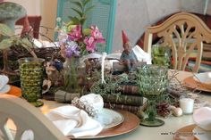 Enchanted Forest Dinner Party