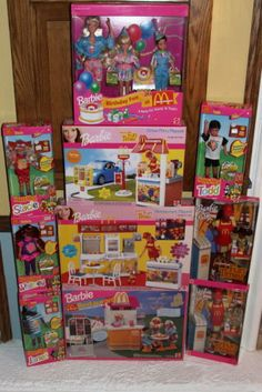 Barbie Doll Lot Huge MC Donald's Very RARE Private Collection | eBay