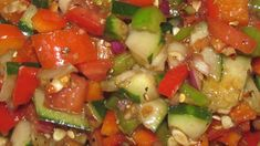 Red Pepper, Cucumber, and Tomato Relish, 1 points plus