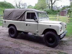 Land Rover Series Three 109 One Ton soft top