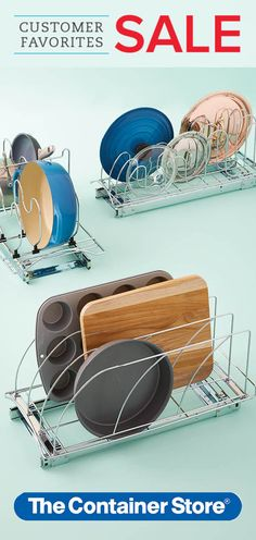 THE BEST-SELLING PRODUCTS OUR CUSTOMERS LOVE YEAR AFTER YEAR. ON SALE TILL AUGUST 6, 2017! Our Lynk Chrome Pull-Out Organizers will make you feel like you have custom kitchen cabinets. They're a snap to install and put all the things you use everyday within easy reach.