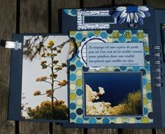 I like the flower with the clip - minis albums - Le blog de cathyscrap85