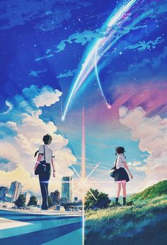 Japanese movie poster image for Kimi no na wa. The image measures 1261 * 855 pixels and is 707 kilobytes large. Film Manga, Manga Anime, Anime Art, Bad Trip, Kimi No Na Wa Wallpaper, Your Name Wallpaper, Your Name Anime, Alien Girl, Best Movie Posters