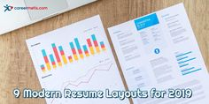 9 Modern Resume Layouts for 2019  #jobsearch #resume #resumetips