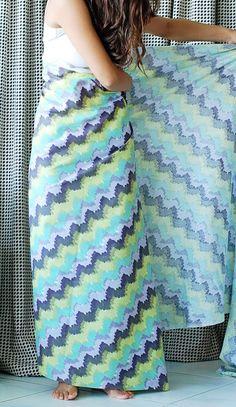 patternless maxi dress