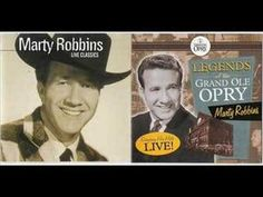 Marty Robbins Singing 'Southern Dixie Flier.'