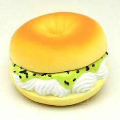 Kawaii Squishies - Tokyo Bakery - Bagel - Cream Cheese with Kiwi – Kawaii…