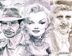 """Check out new work on my @Behance portfolio: """"Graphite caricature"""" http://be.net/gallery/44160859/Graphite-caricature"""