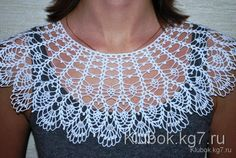 Author- Olga Ermolenko Collier-collar. Work L. Tomchuk Collar decorate business dress. Particularly rele...