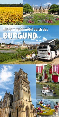 Der stille Westen von Burgund ist eine ideale Region für einen Urlaub mit dem Wohnmobil: Die Départements Nièvre und Yonne locken mit viel Kultur, tollem Wein und guten Stellplätzen. #Frankreich #Wohnmobil