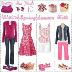Pretty in Pink - Polyvore