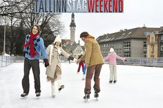 Ice Skating - Tallinn Stag Weekend This summer, come to refresh yourself on track largest and most historic ice on the ice ...